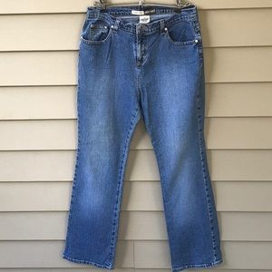 Nice St Johns Bay boot cut stretch jeans. Size 12